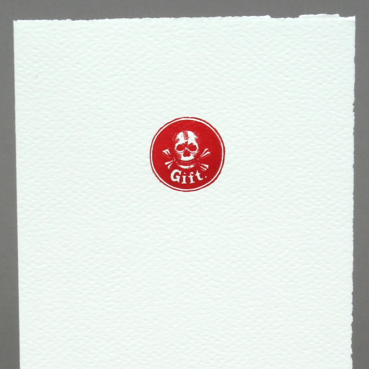 Letterpress Gift