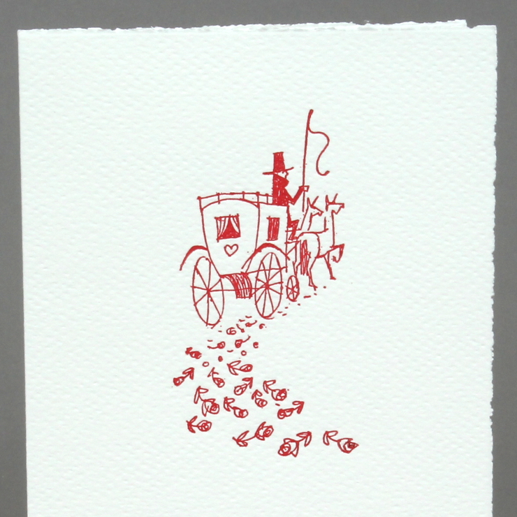 Letterpress Kutsche