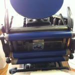 CARO BERLIN Letterpress Boston Tiegel Druckmaschine