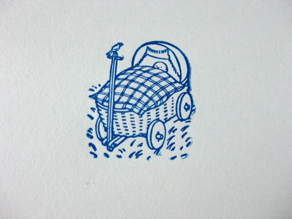 Letterpress Babywagon