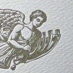 Letterpress Engel