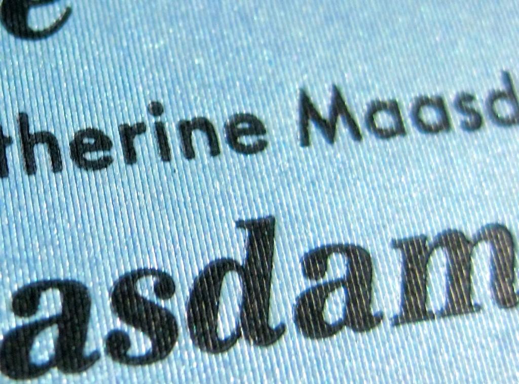 Letterpress Name